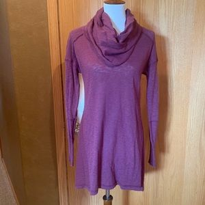 NWOT cowl neck sweater tunic